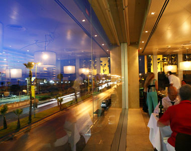Israel, Africa + Middle East: Samuel Restaurant has a prime waterfront location in Tel Aviv, and Mediterranean-style food from Israeli