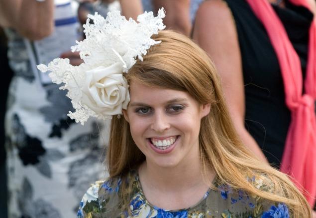 Princess Beatrice's latest head-piece