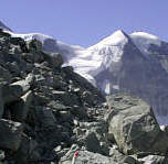 Joggingtour zur Grand Moutet oberhalb Zinal