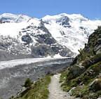 Joggingtour in Val Morteratsch