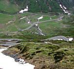 Joggingtour zum Nufenenpass hoch